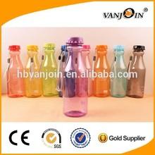 Plastik soda şişesi saman, 500ml soda şişesi, bpa ücretsiz su şişesi