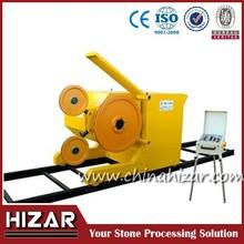 Granite marble wire saw machine/wire saw quarry stone cutting machine