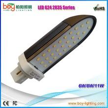 AC85-265V 2 PIN 4 PIN LED G24 Lamp/ LED g24 light/ 5630 g24 led light