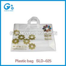 Christmas day factory price wholesales handbags plastic bag for christmas