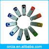 Free Logo Printed Promotional usb, low cost mini usb flash drives, Swivel usb flash drive bulk cheap