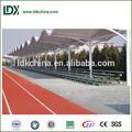 Alumínio assento do estádio, futebol tribunal uso ao ar livre estrutura metálica arquibancada