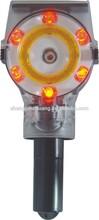 solar flashing led warning light