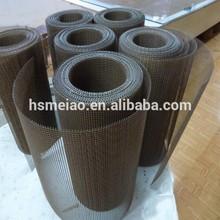 4*4mm brown teflon fiberglass Mesh Conveyor Belt
