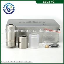 Accept OEM box packing aqua v2 1:1 &aqua v2 rba clone&aqua v2 rda