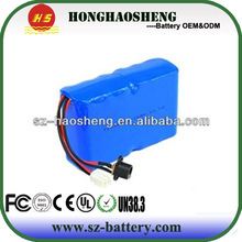 2015 12v lithium battery pack with PCB protection 3s4p