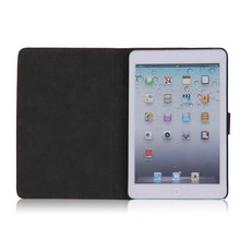New arrival nubuck leather protective tablet bumper for ipad mini case cover