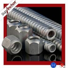 SupAnchor R38 soil nailing reinforcing steel bars