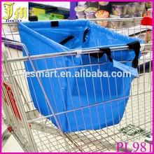 Multifunction Foldable Tote Supermarket Cart Bag ,Portable Grocery Bag,Reusable Shopping Bag