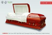 cheap jewish casket wholesale CAMERON wood veneer MDF casket