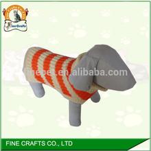 factory wholesale hand crochet dog sweater