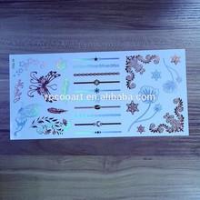 2015 Waterproof metallic flash temporary fashion eagle tattoo designs art of stock from Rocooart