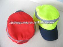 fluorescen sports reflective climbing caps
