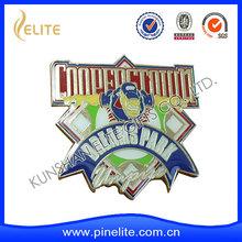metal emblems with custom design artwork