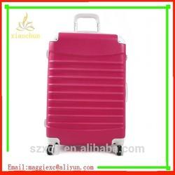 Custom Designer Fashion ABS+PC Best girls travel luggage