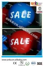 Advertising balloon type cheap self inflating hot air balloon price