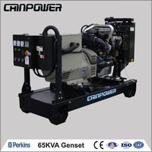 65kva open type stationary power diesel engine model lister petter generators genset