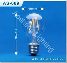 A19 LED Filament Lamp AS-089
