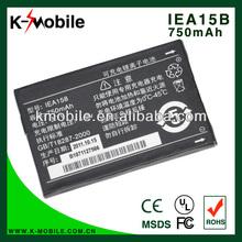 750 mAh lithium cell phone battery for Huawei IEA15B