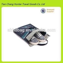 fashion leisure sports drawstring shoe bag,wholesale custom shoe bag for sports,bulk printing drawstring bags