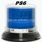 PS6 LED warning strobe light,/5 year warranty/ six colors/LED Police blue rotary beacon
