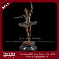 Hot Sale Elegant Woman Life Size Bronze Sculpture