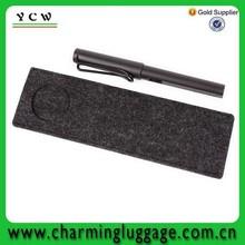 2015 china manufacture new design felt packing bag for pen