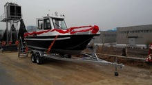 Hot sale marine 20ft aluminum boat for fishing, pilot, rescue