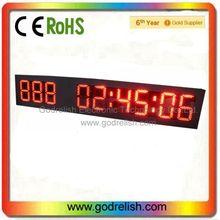 Plastic big outdoor clock counter pen