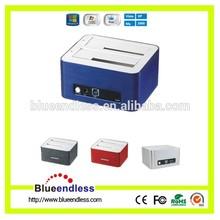 USB3.0 SATA Dual bay HDD docking station/ HDD duplicator