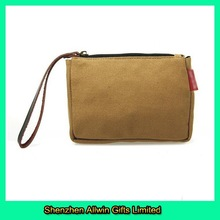 Factory custom durable canvas cell phone belt bag