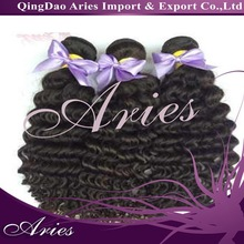 High quality and Best-selling virgin brazilian afro curl hair weave