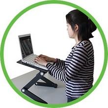 Laptop Desk with 6 Adjustable Legs