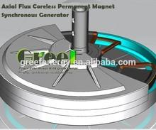 HOT! Free energy permanent magnet generator,low speed magnetic generator 10kw!