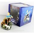 "Les aventures de de tintin exploradores na lua 3.9"" azul brinquedos figura de novo na caixa"