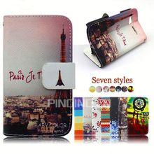 Hot sale mobile phone accessory for LG Optimus L9 ii 2 folio leather cover