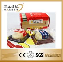 Custom private label food label sticker, adhesive food label, packaging food custom logo printed sandwich labels