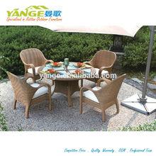 high back rattan dining chair
