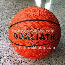 Bulk rubber basketball;promotional basketball