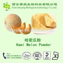 100% Natural Spray Dried Hami melon powder /Spray dried Fruit powder / Melon Powder