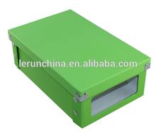 Own design paper shoe box,cardboard custom shoe box,custom printed shoe box