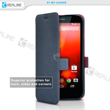 New products Creative Design for Motorola G leather case