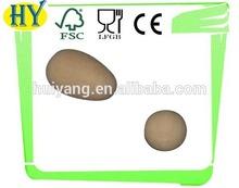 Decoraciones de madera huevos, huevos de madera