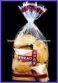 Personalizado impresso FDA saco plástico pão Tie