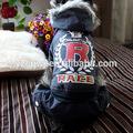 nuevo diseño de venta caliente baratos de alta calidad de la marca de ropa para mascotas de la mano de punto perro suéter