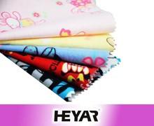 flannel cartoon print fabric