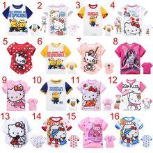 free shipping Kids set summer wear Short sleeve set Children clothing suit t shirt