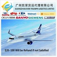Air Cargo/ Air Shipping From Guangzhou/Shenzhen/Dongguan China to Nigeria