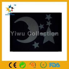night glowing sticker for car,craft gem stickers,skull tattoo sticker