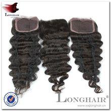 2015 New top Lace Closure And Peruvian Hair